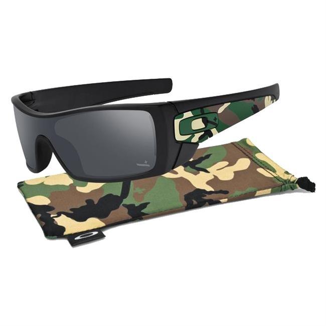 Sunglasses Batwolf Camo Matte Black Frame Black Iridium Lens
